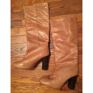 Women's Tan Steve Madden Boot, size 8